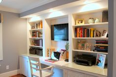 Home-Office-Paint-Colors-1.jpg (400×300) | Home Decor Ideas | Pinterest | Recycling, The long ...
