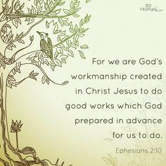 We Are God's Workmanship