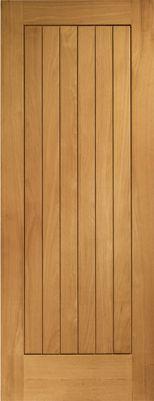 Suffolk Fully Finished External Oak Door
