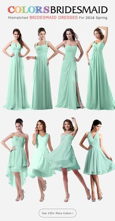 Bridesmaid Dresses in 150+ Colors. Find Mismatched Bridesmaid Dresses in similar color. Buy Now!