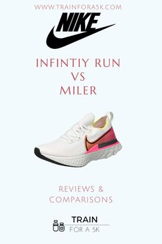 Nike running consistently produces some of the best running shoes. Here we give a detailed comparison of the Nike React Infinity and the Nike React to help you find which running shoe is the right for you. Visit www.trainfora5k.com to learn everything you need to know about these amazing NIke Running shoes.