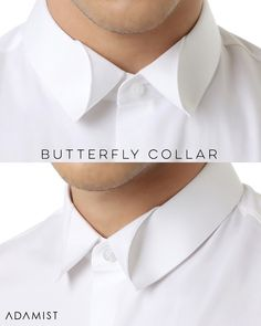 The #WhiteCollar Collection. CLASSIC White Shirt with Modern Collar TWIST! Choose from 'Butterfly', 'Origami', or 'Royalty' Collar ↔️ #SWIPE & tell us which do you like most❓ Available in plain or motif fabrics & black/colors #ADAMIST — Order Now! WhatsApp +62-8211-024-2210 (Indonesia only). Email order@adamist.com or DM (Worldwide) — Premium made-to-order shirts made with 100% cotton & fine craftsmanship. Also available for @adamistwomen & @adamistkids — *Our website is under renovation…