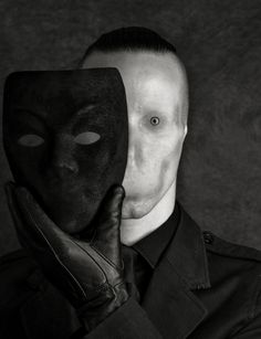 Behind the mask - sometimes my greatest fear...that behind the mask I am nothing.