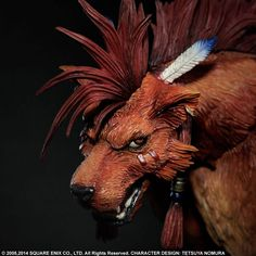 Final Fantasy VII - Advent Children Series 02 - Play Arts Kai - Red XIII