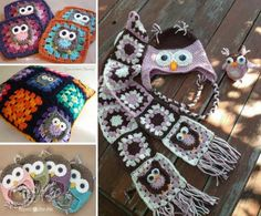 This Crochet Owl Scarf Free Pattern is an absolute stunner you will not want to miss. Owl Crochet Patterns, Crochet Owls, Owl Patterns, Crochet Poncho, Crochet Baby, Free Crochet, Knitting Patterns, Kimono Pattern Free, Free Pattern