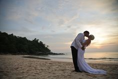 Donna+Gene Wedding, Kata Noi Beach, Phuket