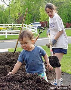 Working on the Daisy Flower Garden Journey? Here are some great tips for gardening with younger kids.