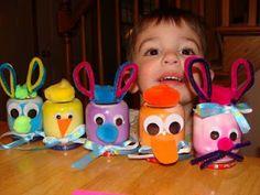 More Baby Food Jar Animal Ideas