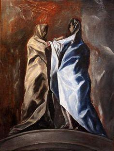 'Visitación' inédita de El Greco