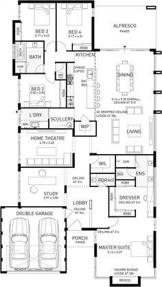 Riviera, Single Storey Display Floor Plan, WA