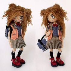 Чудесные вязаные куколки. Идеи для творчества. Обсуждение на LiveInternet - Российский Сервис Онлайн-Дневников