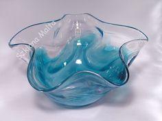 Miska szklana wykonana ręcznie Mdina Glass Malta