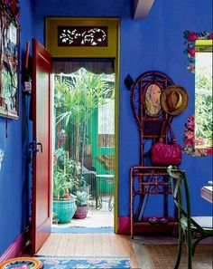 Boho Chic interior Colorful Tropical Home Interior- Casa Brazil.