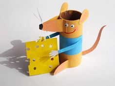 DIY mouse | paper roll