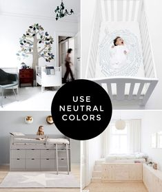 or use neutral colors