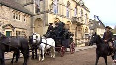BBC News - Corsham goes back in time for Poldark location filming - Click on Photo to go see video with Aidan walking and Heida talking.