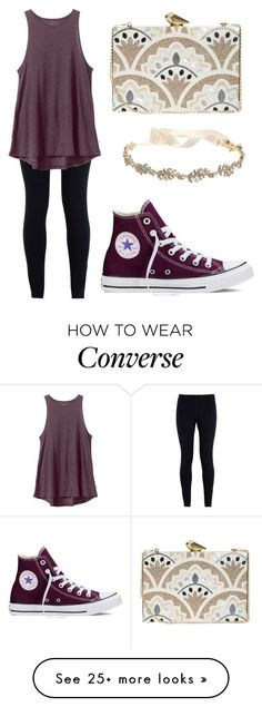 """Casually elegant?"" by sugarplumfairy99 on Polyvore featuring NIKE, RVCA, Converse, Marchesa, KOTUR, women's clothing, women, female, woman and misses"