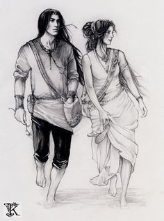 Feanor and Nerdanel. <3
