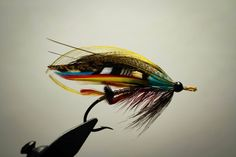 Red Drummond on 3/0 Bartleet  Hook me reworked Designed by John James Hardy  Early 20th century  By Manfred Dillinger