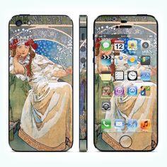 """Виниловая наклейка для iPhone 5 """"Princess Hyacinthe"""" купить в интернет-магазине BeautyApple.ru."""