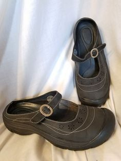Keen womens shoes sz 8.5 M mary jane mules soft black waterproof shoes | Clothing, Shoes & Accessories, Women's Shoes, Flats & Oxfords | eBay! SOLD