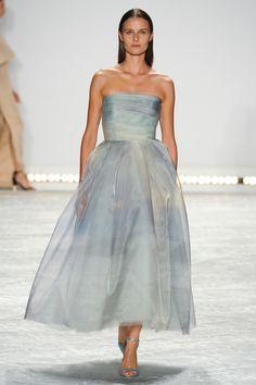 Monique Lhuillier, Весна-лето 2015, Ready-To-Wear, Нью-Йорк