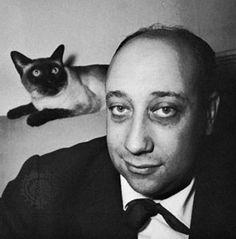 Jean-Pierre Melville <3s kitty
