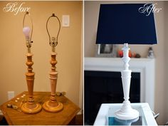 Goodwill Lamps | DIY Decor Rehab