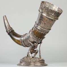 Horn of the Miner's Guild of Wieliczka (Poland) - 1534.png (602×600)