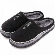 Coolers Mens Microsuede Soft Comfy House Shoe Navy Fur Lined Full Slippers NEW