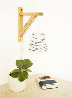 Une lampe déco avec EKBY  #EKBY #ikea