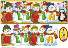 Snowmen Names Large Dl - Olivia