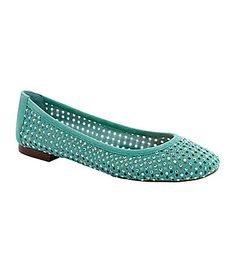 These shoes are so amazinly comfortable for a 6 to 8 hour leizure wear. They look way betther on and spruce up any outfit.  Antonio Melani Peri Casual Flats #Dillards