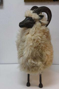 A LaLanne-esque sheep
