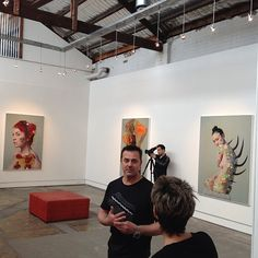 Robert Doble (@rkd_28) & Simon Strong are up in Sydney for their exhibition opening tonight!