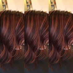 Love, love, love this color!!! #fallhair #fallhaircolor #darkroots #stretchedroot #darkrosegold #rosegold #haircolor #haircut #loosewaves #hairstyles #salonlebeau #beautifinder #modernsalon #americansalon #behindthechair #redkencolor #redkenready #redkenobsessed @beautylaunchpad @behindthechair_com @beautifinder @cosmoprofbeauty @redken5thave @redkenofficial