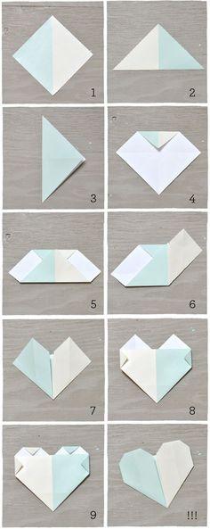 Origami para seating plan