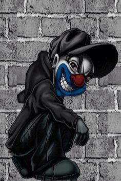 Clowning Graffiti Art, Wie Zeichnet Man Graffiti, Graffiti Drawing, Arte Cholo, Cholo Art, Chicano Art, Dope Cartoon Art, Cartoon Kunst, Evil Clowns