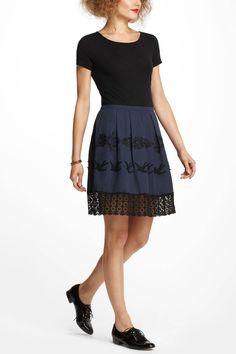 Flyaway Embroidered Dress - Anthropologie.com - $14800
