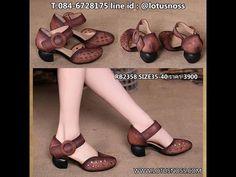 รองเท้าหนังแท้แฮนเมดลายวินเทจแต่งกระดุมฉลุลายจากเกาหลีแท้ นำเข้า ไซส์35ถึง40 พรีออเดอร์RB2360 - YouTube