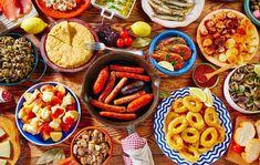 Popeyes Menu, Paella, Tapas Spain, Gazpacho Manchego, Marrakech, Air Recipe, Dessert Original, Chicken Menu, Spanish Cuisine