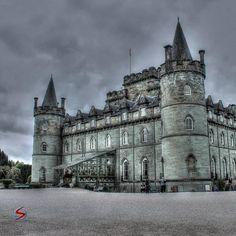 Inveraray Castle UK by @stefionesco on IG.