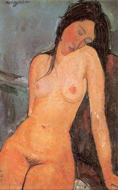 Modigliani Nu Assis-