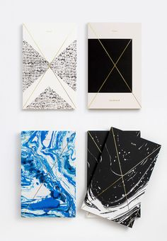 Gold Foil Daily Planners