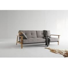 The Innovation Living Split Back Fabric Convertible Sofa with Frej Arms is inspired by mid-century modern Danish furniture design with a twist. Danish Furniture, Funky Furniture, Furniture Design, Innovation Living, Innovation Design, Home Furnishing Stores, Home Furnishings, Sofa Design, Sectional Sofas