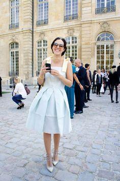 Look da Vic: Vestido Alexandre Herchcovitch / óculos Gucci