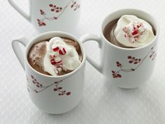 Bittersweet chocolate and peppermint turns a mug of traditional hot chocolate recipe into an indulgent drink.