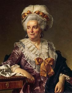 """Madame Charles-Pierre Pécoul, née Potain"", 1784, by Jacques-Louis David (French, 1748-1825)"