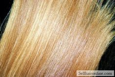 Awesome LAST CALL for this LUXURIOUS SPUN GOLD: Virgin, Un-cut  Strawberry Blonde Red Amazing Natural Highlights