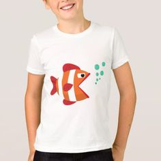 #Sweet Fish T-Shirt for kids boy ot girl - #giftideas for #kids #babies #children #gifts #giftidea